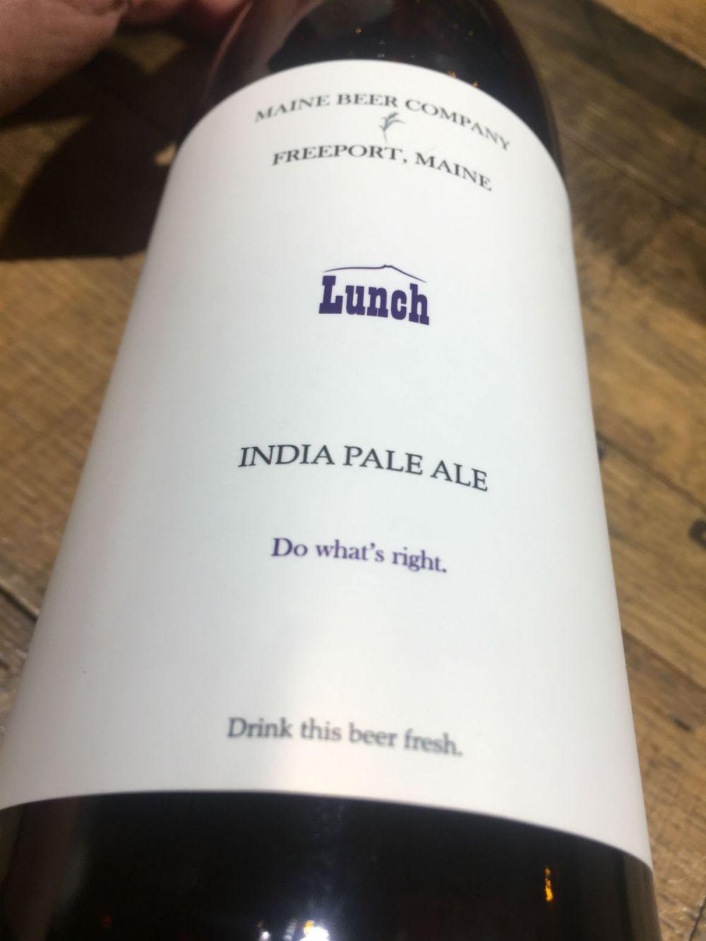 top_ten_list_maine_beer_company_lunch